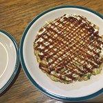 The spaghetti & okonomiyaki were quite tasty!