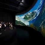 "Il Patrimonio Mondiale Swiss Alps ""Jungfrau-Aletsch"" nel cinema panoramica"
