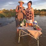 Sundowners in the delta