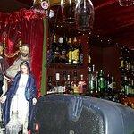 Upstairs bar at The Spaniard