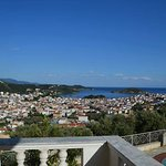 amazing skiathos view