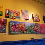 Art on the wall!
