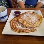 Yummy huge pancakes!