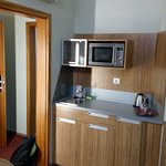 Twin room - kitchen