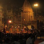 Evening aarti Ganges