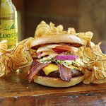 Wood-Grilled Applewood Smoked Bacon Cheeseburger