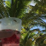 Drinks on the beach delivered regularly and to a high standard.