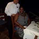 Roberto Ramirez and I in Bogavante Restaurant