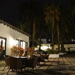 Courtyard and night