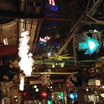 inside the ruin pub