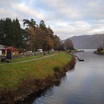 The town of Loch Ness