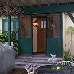 Guest House - This cottage features a private entrance just off the patio.