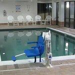 Pool area (closed in, indoor