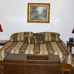 Fiesta Suite - Private entrance off the carport, king size bed, private bath, TV and free wi-fi.