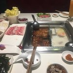We found this Hotpot restaurant close by our hotel and if your this side of town is well worth t
