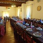 Castello di Sorci,sala da pranzo