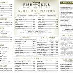 California Fish Grill - Brea Menu