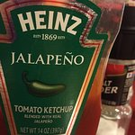 Who knew there was Jalapeño ketchup?