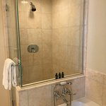 Shower - functional but a bit compact