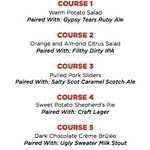 Townhall Langley Presents a 5 Course Parallel 49 Pairing Dinner – December 15th, 2016