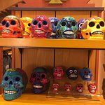 Mexican themed dia de los muertos goodies from the gift shop!