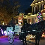 Carriage ride from Cedar House to dinner