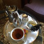 Coffee and tea delivered to your room - no making it yourself