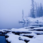 Cascade Pass Trail alpine lake