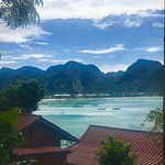 Ok Phi Phi island, some views from the balcony of the Sea Sky Resort