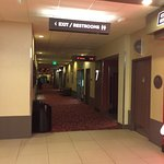 Hallway to theaters