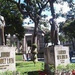 Algunas estatuas de los jaliscienses ilustres