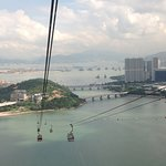 View of the Bay from our Cable Car