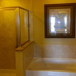 Tub and shower in Master Suites