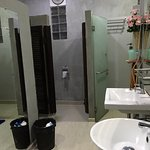 Female toilet, clean and tidy