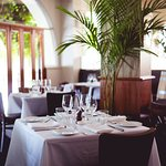 Our dining room reflects the history in which it is housed.