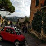 Around the corner from SanGaggio