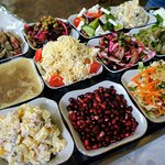 Salads that you can choose from