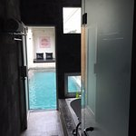 Access to pool
