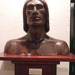 Escultura de indio charrua