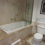 bathroom of room 504