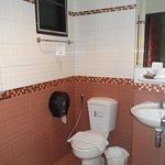 Clean toilet