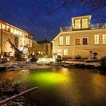 Das Garten-Hotel im Winter