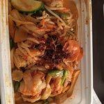 Mamasan's - spicy peanut noodle dish