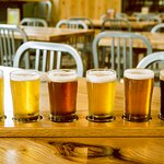 We craft a spectrum of brews--try them on a Sample Paddle.