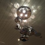 Light fitting in breakfast room