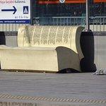 Tram Station bench... I love it