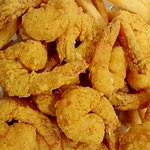 24 Shrimp Special served with French Fries $11.95...