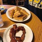 Belgium Waffles & Bacon