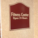 24 hour fitness center!