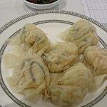 Prawn and scallop dumplings